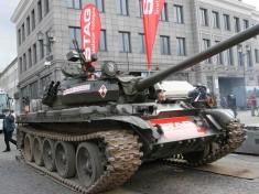 LPG zamontowane w czołgu T-55 MERIDA