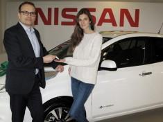 Kamila Szczawińska ambasadorką elektrycznego Nissana LEAF