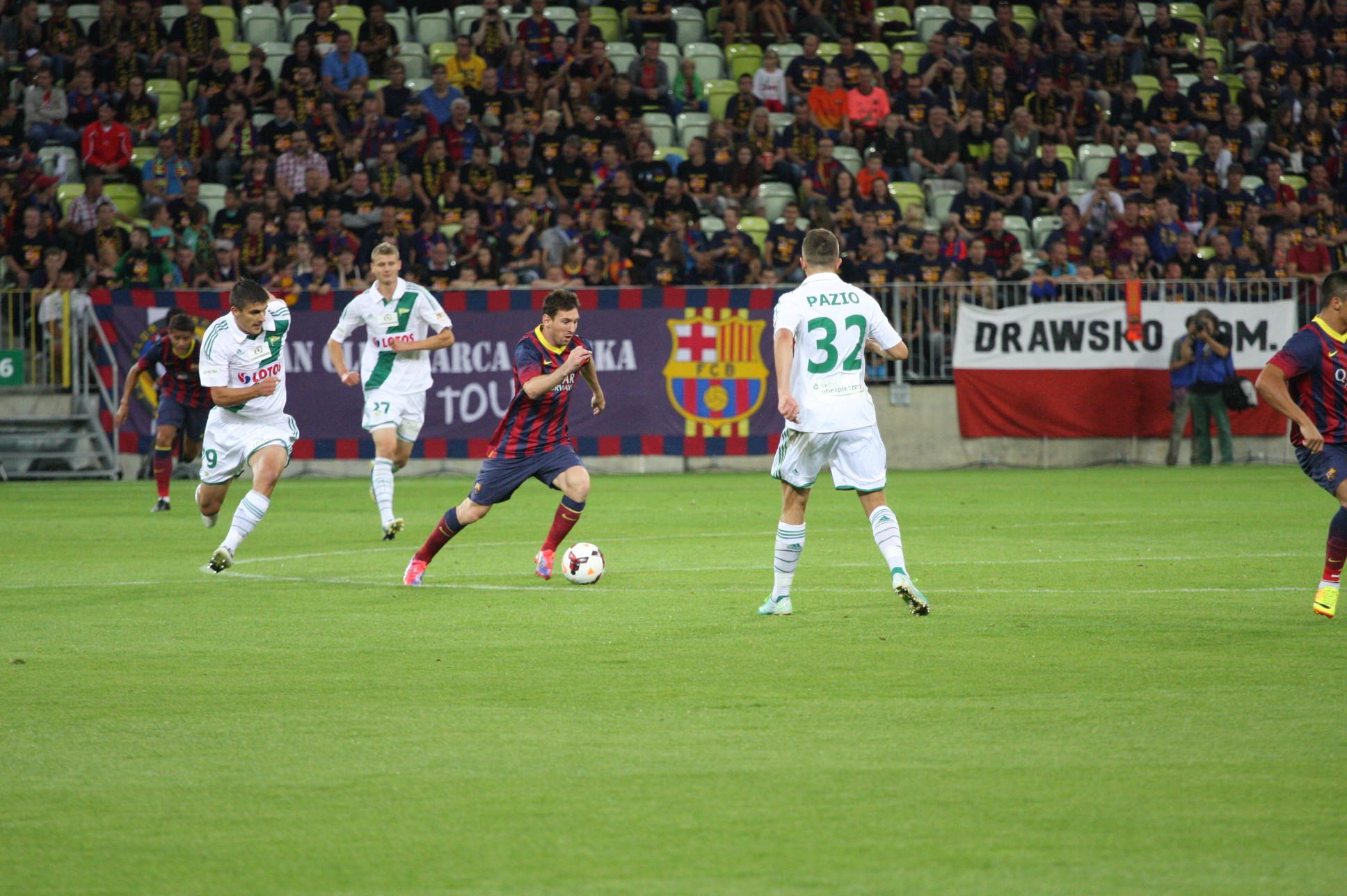 Galeria zdjęć Fc Barcelona vs. Lechia Gdańsk