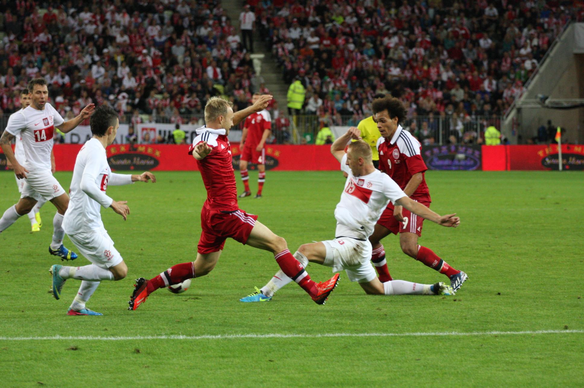 Mecz Polska – Dania