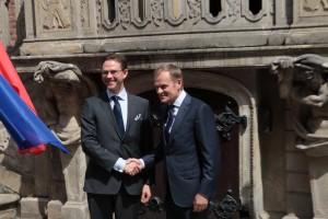 Wspólne działanie na rzecz integracji i wspólnego świętowania przystąpienia Chorwatów do Unii Europejskiej, a także na temat partnerstwa wschodniego gdzie będzie uczestniczyła także `Finlandia.