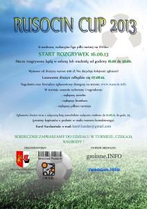 RUSOCIN CUP 2013
