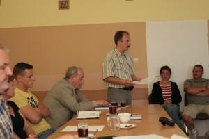 Zebranie wiejskie - Żukczyn - fot. M. Cabaj