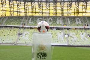 Piłka którą miała grać Barcelona z Lechią Gdańsk - fot. M. Cabaj