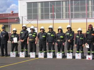 Rok 2007. Gminne zawody strażackie