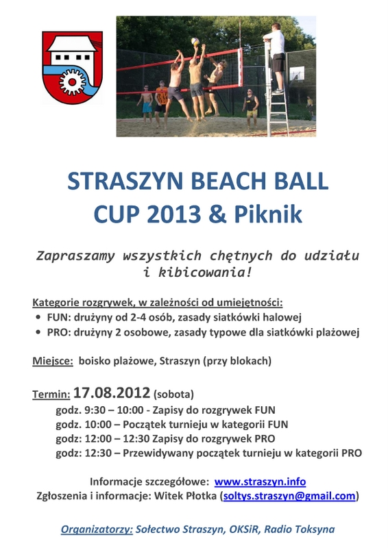 Straszyn Beach Ball CUP 2013