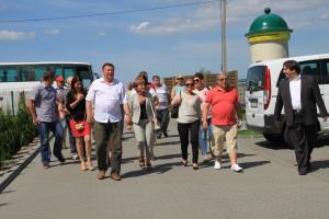 W lipcu sołtysi gościli przedstawicieli gminy Kobierzyce, która, śladem naszej, chce zorganizować u siebie Stowarzyszenie Sołtysów.