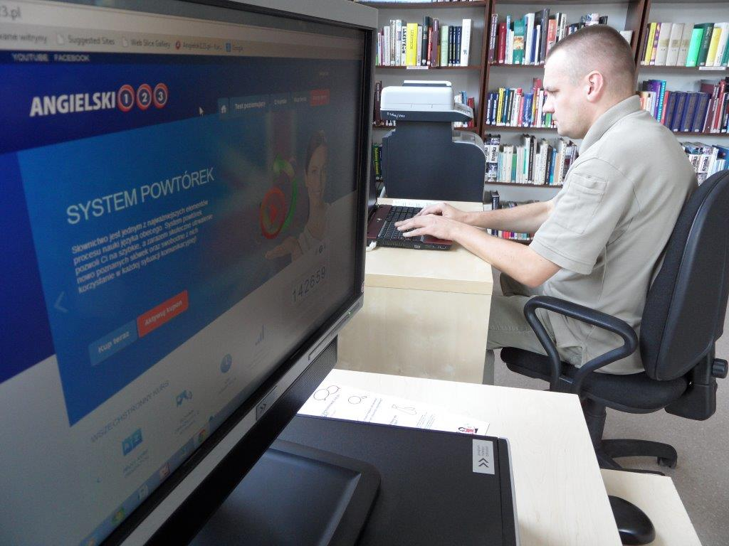 Angielski w bibliotece