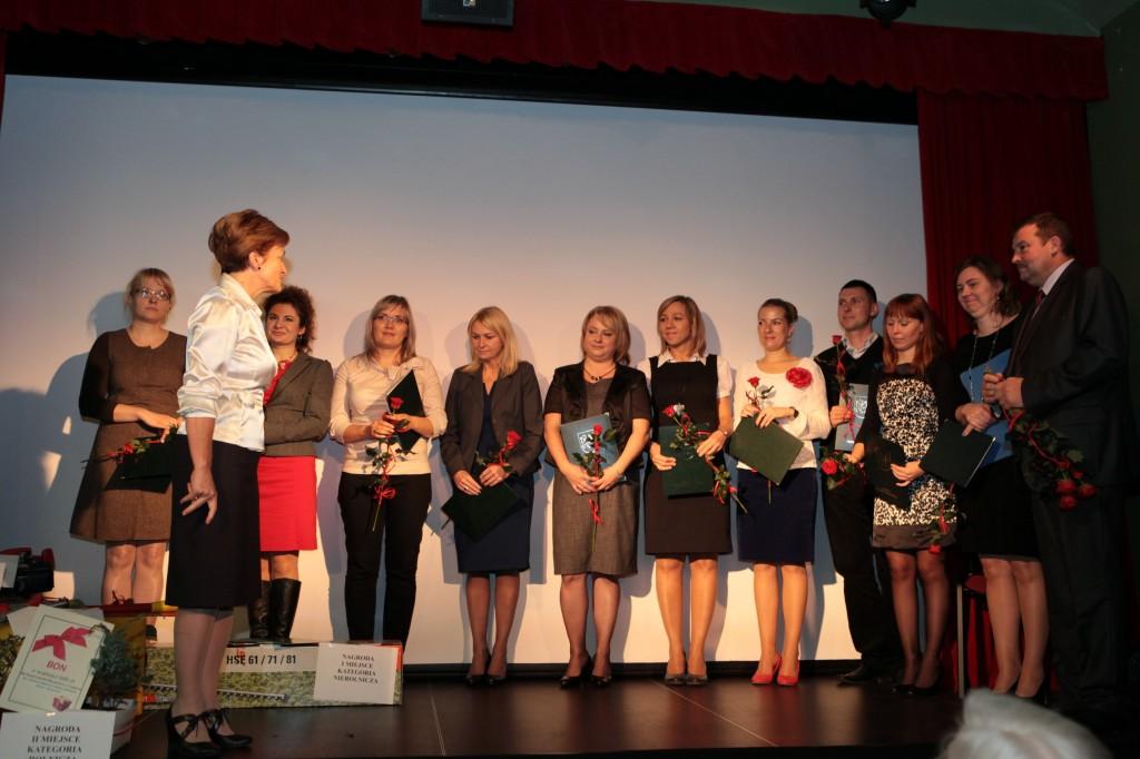 Nominacje nauczycieli - fot. M. Cabaj