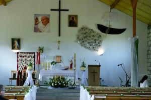 Kaplica w Parafii bł. JPII - fot. MC