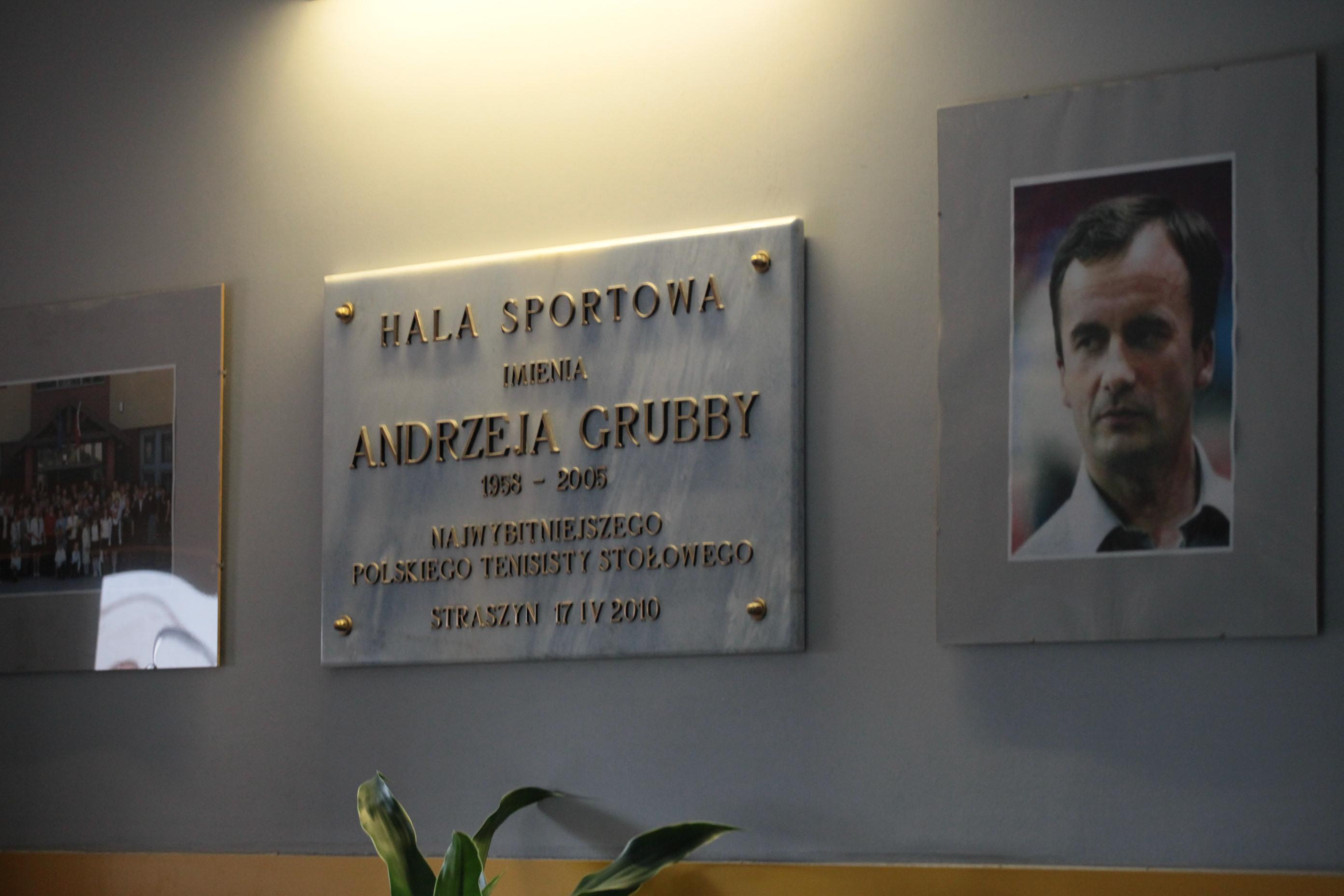 Hala Sportowa im. Andrzeja Grubby w Straszynie