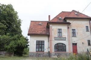 Dworzec w Straszynie arch. fot. MC