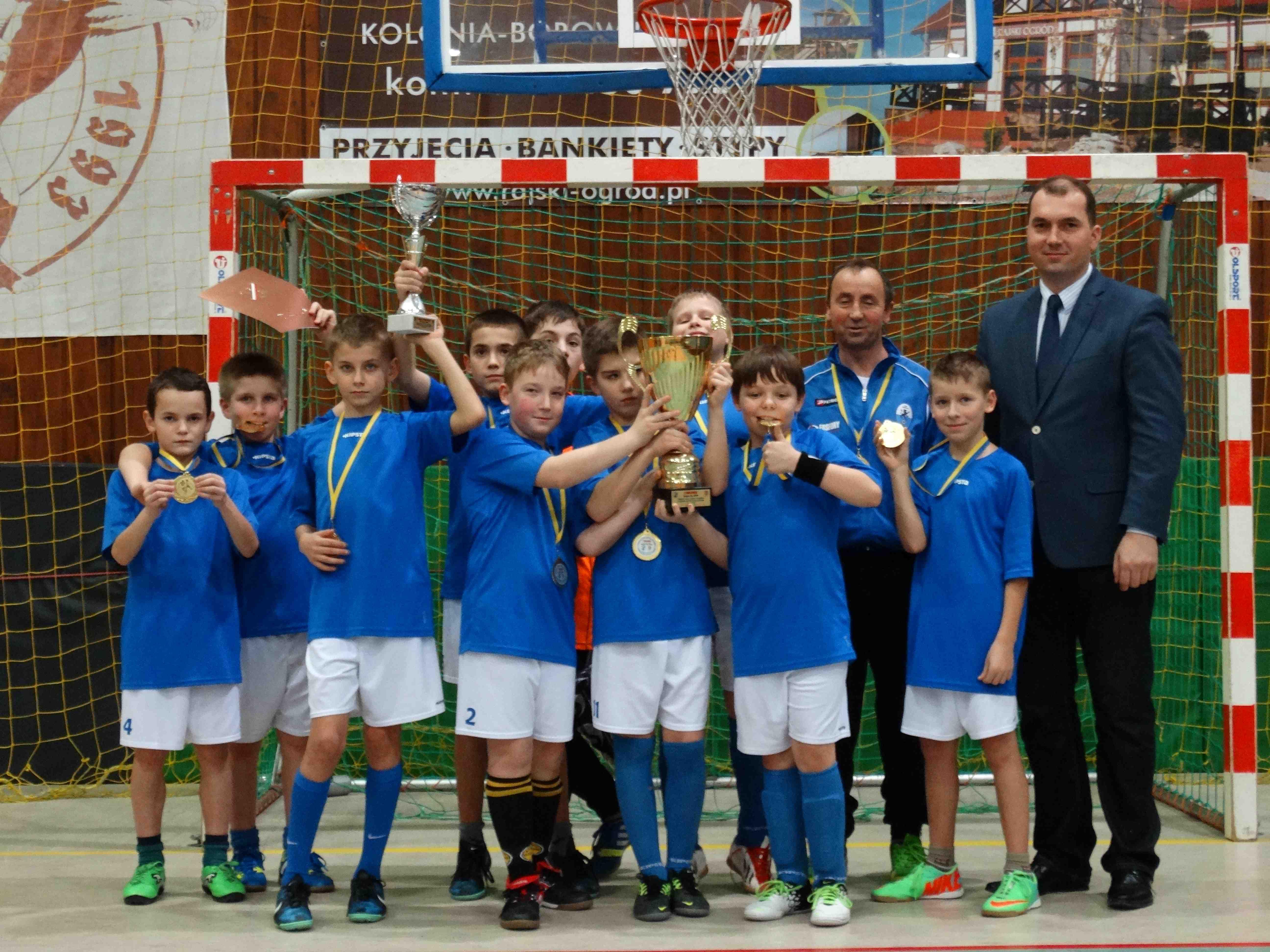 Turniej piłki nożnej halowej rocznika 2003 o Puchar Wójta Gminy Szemud