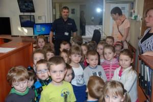 Przedszkolaki na komendzie (2)