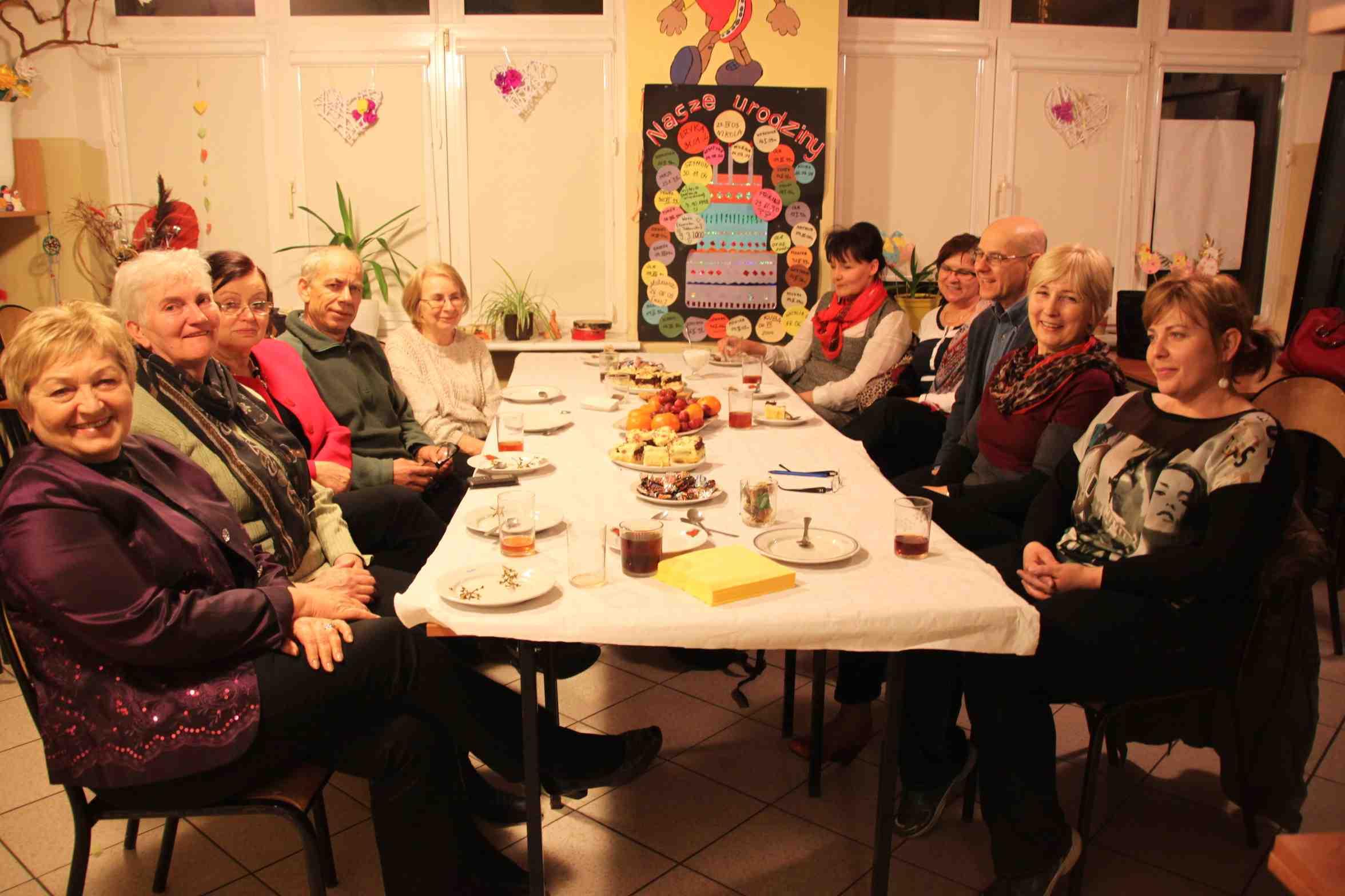 Spotkanie w świetlicy wiejskiej w Cieplewie