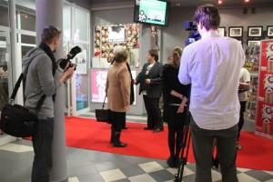 Otwarcie kina w Cieplewie