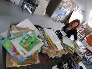 Na ubiegłoroczny konkurs nadesłano ok. 2 tys. prac. Wstępnej selekcji prac dokonała instruktor Agnieszka Michalczyk.