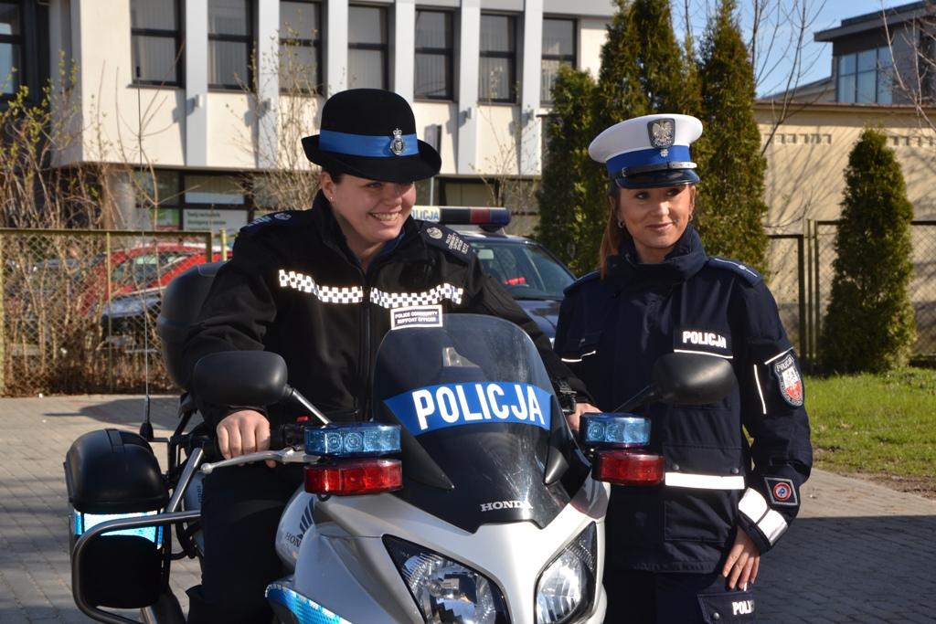 Pruszcz Gd.Policjanci z Norfolk
