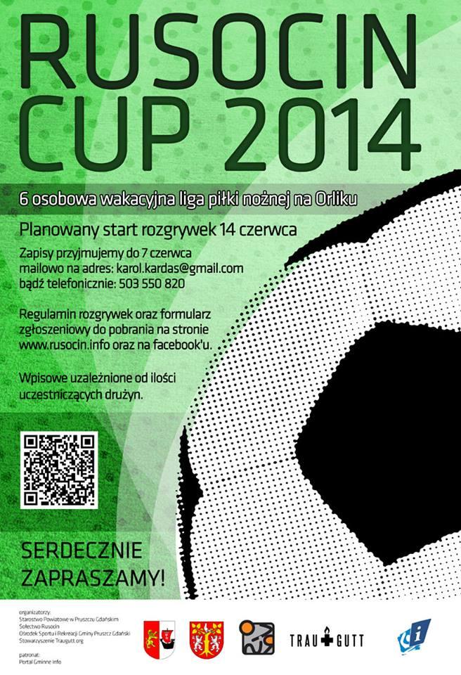 Rusocin Cup Plakat