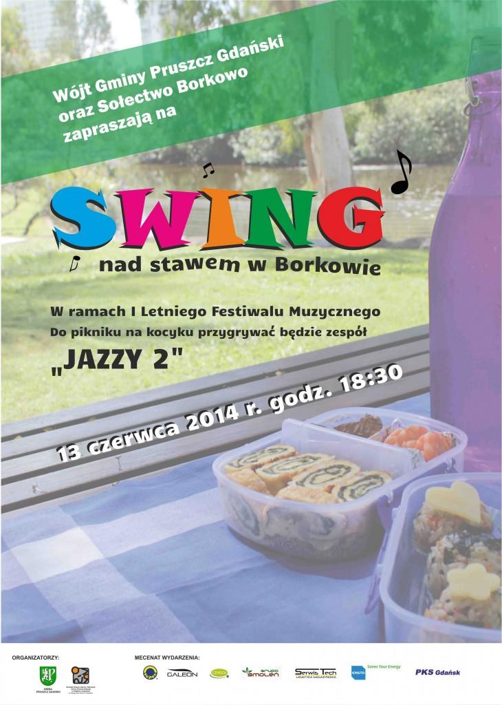 Swing w Borkowie