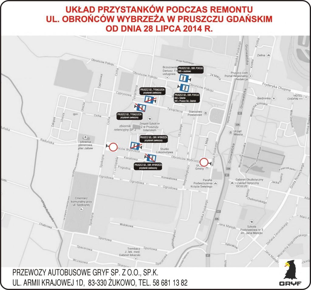 Objazd - Pruszcz Gdanski