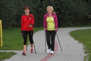 z nordic walking po zdrowie