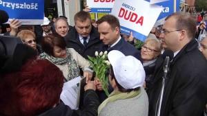Andrzej Duda w Pruszczu Gdańskim - fot. MC
