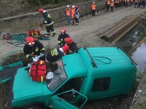 Akcja ratunkowa w Pruszczu Gdańskim