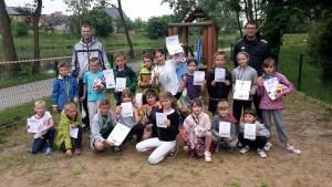 """Zwycięzcy """"Biegu Traugutta"""" w Wojanowie"""