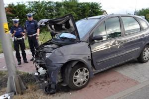 Wypadek w Wiślince