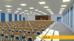 Aula - wizualizacja obiektu