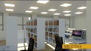 Biblioteka - wizualizacja obiektu