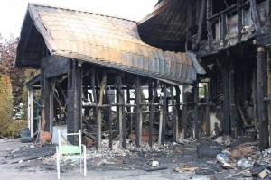 Pożar w Wiślince