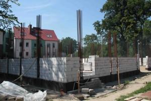 Budowa sali gimnastycznej w Wiślinie