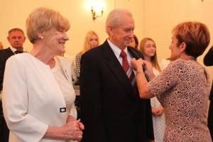 Halina i Andrzej Żółć z Łęgowa obchodzili Złote Gody