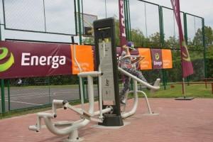 przejazdowo plac sponsorowany przez Energę