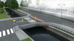 Nowy most na Starogardzkiej