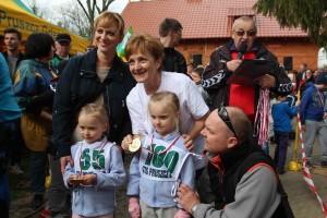 Na wszystkich uczestników biegów, także tych najmłodszych, czekały pamiątkowe medale