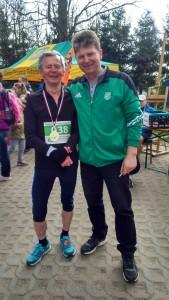Dla 80-letniego Jacka Bandurskiego to był 604 bieg, w którym wziął udział! Pan Jacek biega od 25 i ma na swoim koncie wiele medali i pucharów