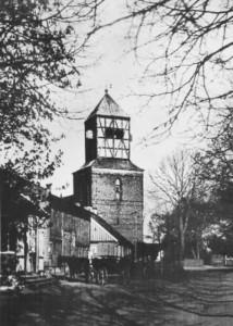 Kościół w Bogatce na przedwojennej fotografii