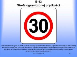Strefa ograniczonej prędkości