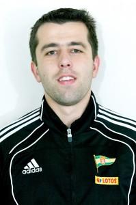 Trener Łukasz Poźniak